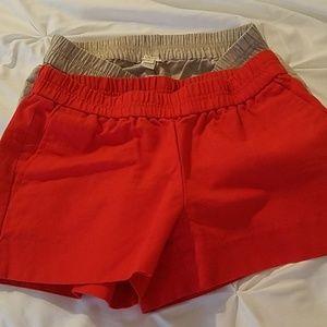 J. Crew pocketed shorts